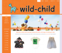 Wild-Child Clothing for the spunky kids